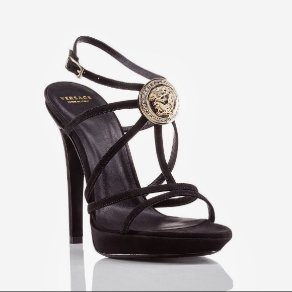 outlet on sale great discount superior performance Authentic Versace High Heels